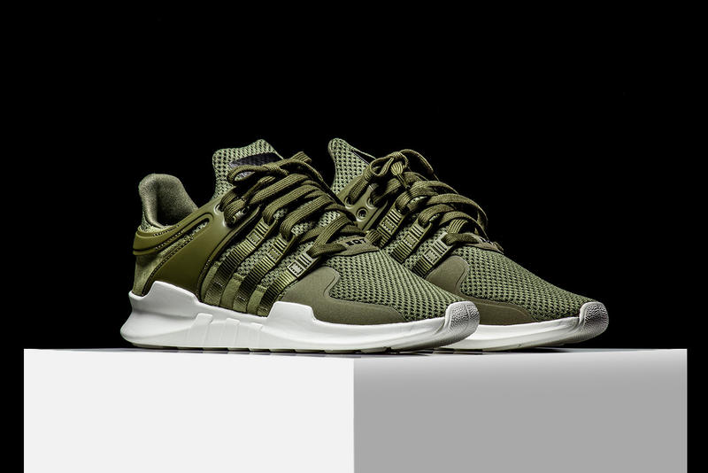 info for b82bd 854b9 adidas EQT Support ADV Olive Makes Its Stateside Debut Rise45 adidas  originals three stripes