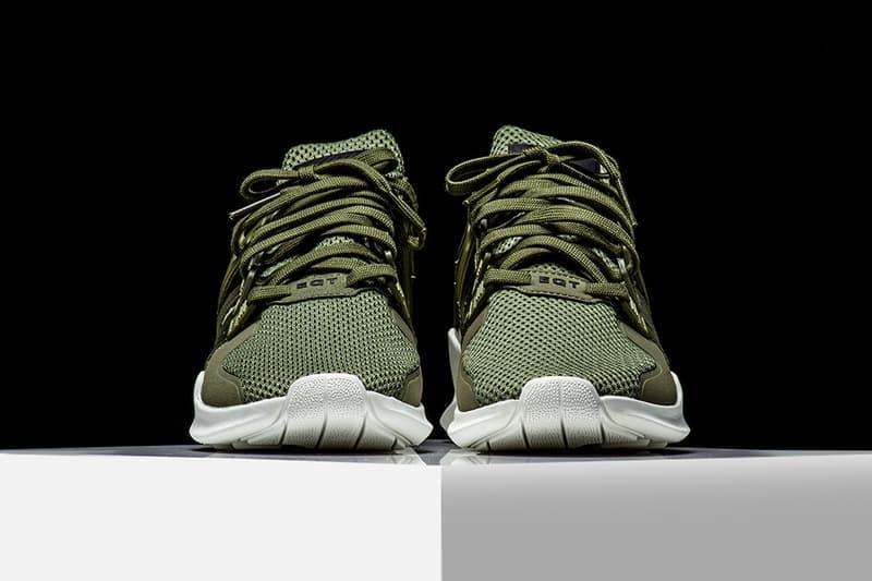 3eb684283649 adidas EQT Support ADV Olive Makes Its Stateside Debut Rise45 adidas  originals three stripes