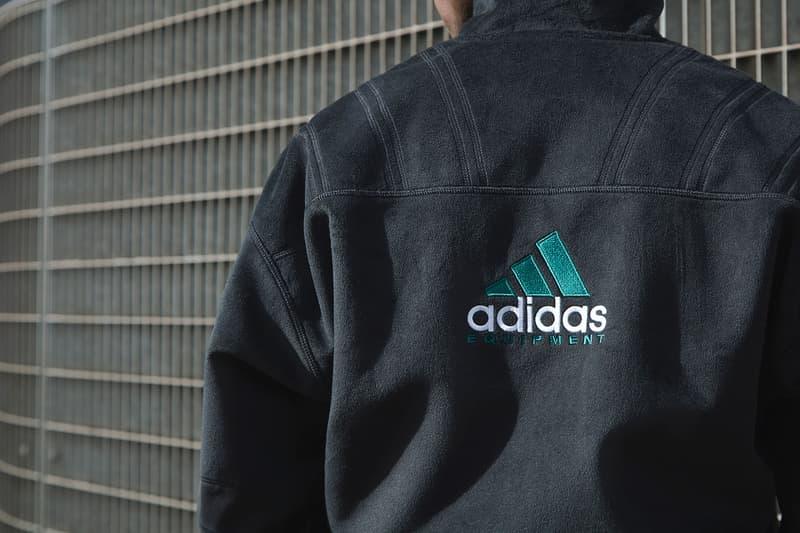 adidas Equipment 2016 FW Apparel Collection black grey green