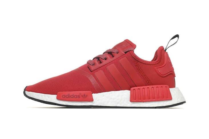 adidas Originals NMD R1 Red Sneaker tonal mesh