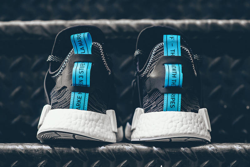 adidas Originals NMD XR1 Core Black Sky Blue