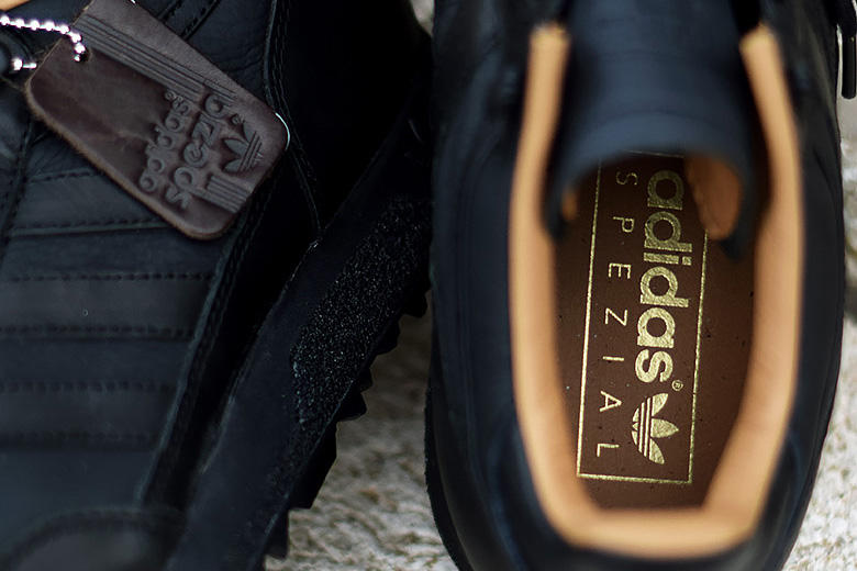 adidas Originals Spezial Mounfield II black nubuck leather 2016 Fall Winter SPZL