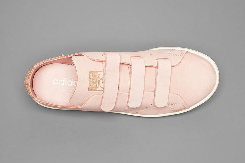 adidas Stan Smith OP Pink Strap Footwear white midsole pink off-white solebox Black Three Stripes
