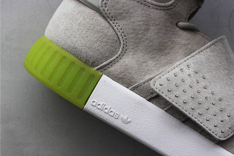 adidas Tubular Invader Straps Exclusive to BILLYs 2016 Fall Blue Teal Off White Green White Midsole Suede Tan Beige