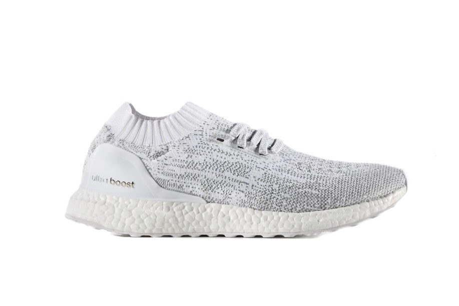 newest collection d911e 4438c adidas s Ultra Boost Uncaged Returns in a Cool White, Grey and Silver Design