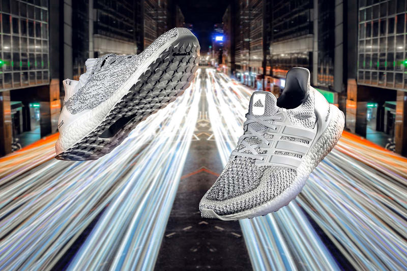 new concept 2fae8 81f4e adidas Ultra Boost White Reflective Uncaged