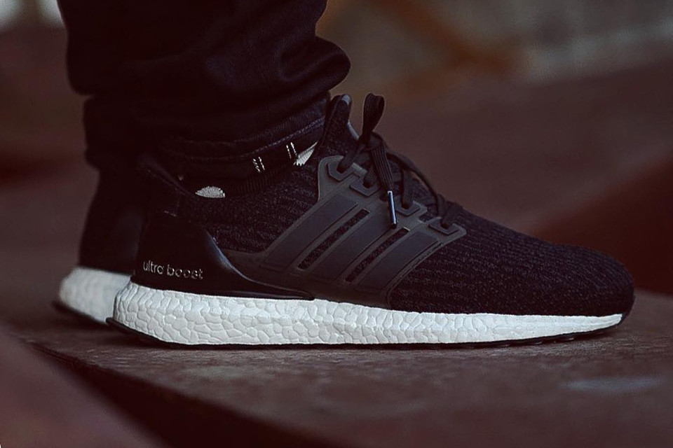 adf04ddd4 adidas Unveils the UltraBOOST 3.0 in Core Black