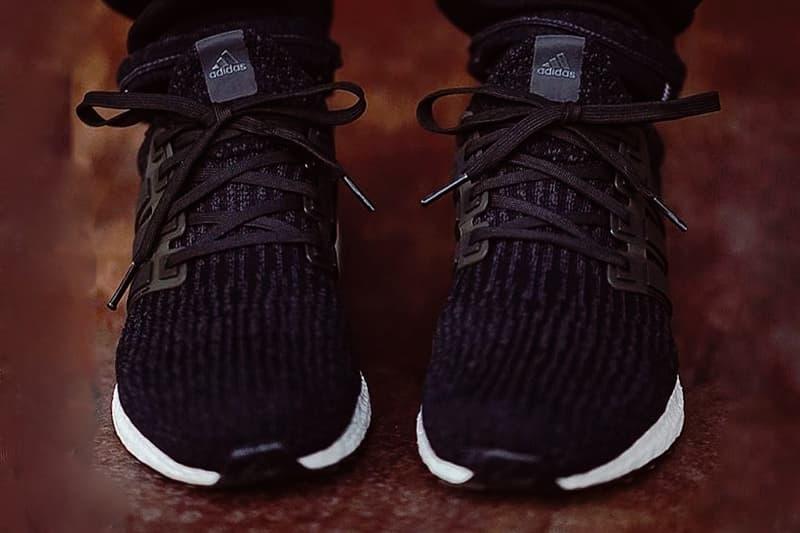 adidas UltraBOOST 3.0 Core Black adidas Originals BOOST midsole