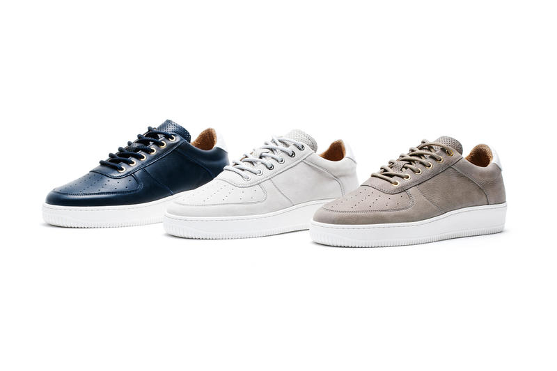 Aimé Leon Dore Q14 Sneaker leather gold teddy santis