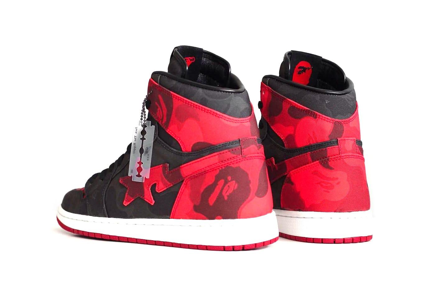Air Jordan 1 BAPE Custom Sneaker