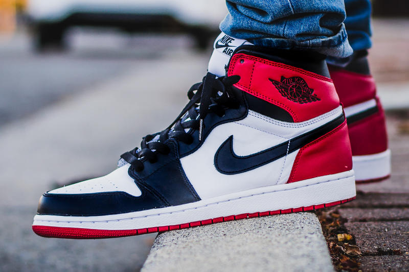 sports shoes 7066f 3569d Air Jordan 1 Black Toe Retro Release Date Banned Shattered Backboard Royal