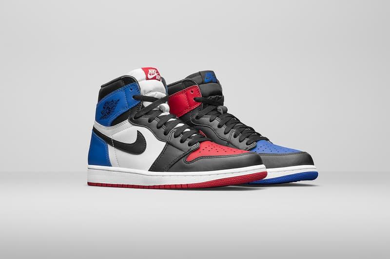 Air Jordan 1 Top 3 Official Look