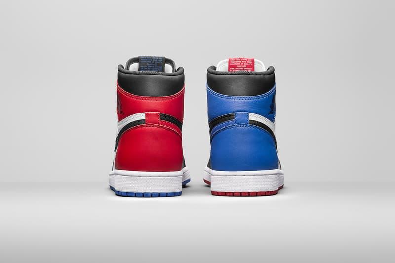 409d64067bd7b5 Air Jordan 1 Top 3 Official Look