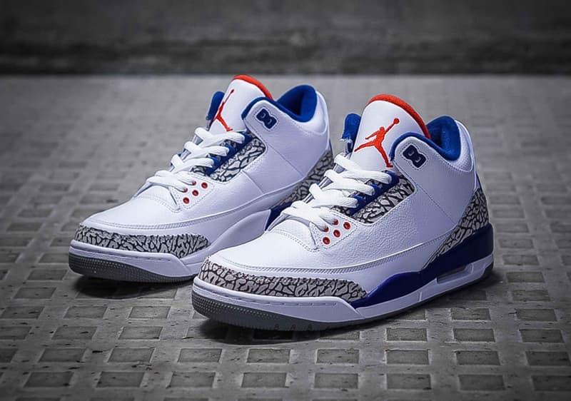 6c510e441ed Air Jordan 3 true blue jordan brand sneaker basketball streetwear
