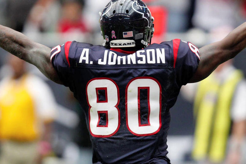 6a8d3688c9b Andre Johnson houston texans nfl football wide receiver 80