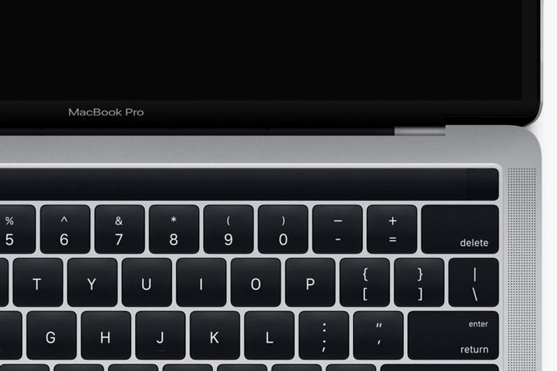 Apple MacBook Pro 2016 Leak Touch Strip Fingerprint Reader