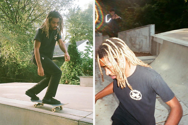 Marino Infantry by A$AP Ant lookbook video skateboarding