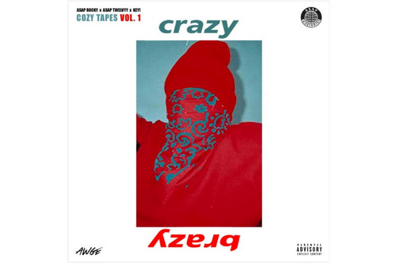 ASAP Rocky Crazy Brazy Single