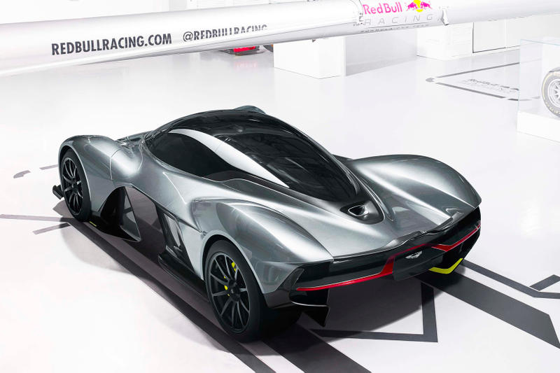 Aston Martin Red Bull Racing AM-RB 001 pictures in garage