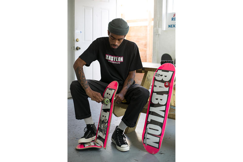 Babylon LA Baker Skateboards Collaboration