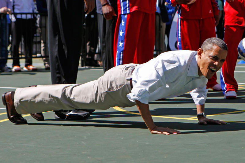 Barack Obama Workout Playlist
