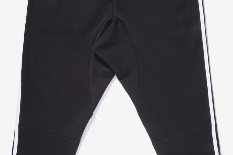 BEAMS x adidas adicolor Tracksuit black white three stripes