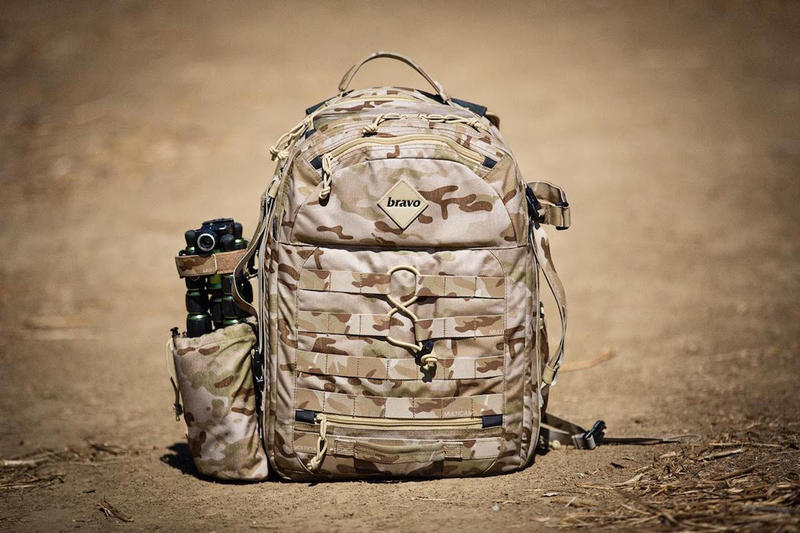 BRAVO Delta Block II MulitCam Arid Backpack afghan war print Atiba Jefferson
