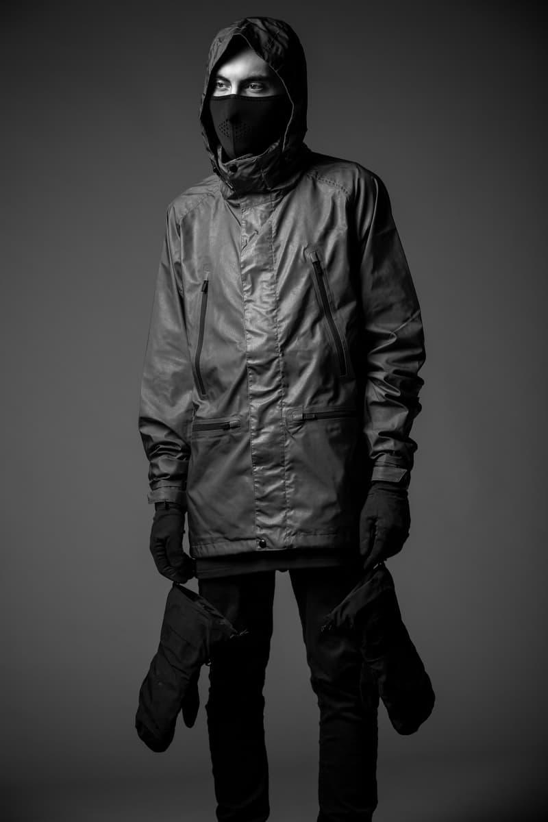 Burton x Black Scale 2016 Winter Collection Pants Jackets snowboarding Lookbooks hard wear accessories