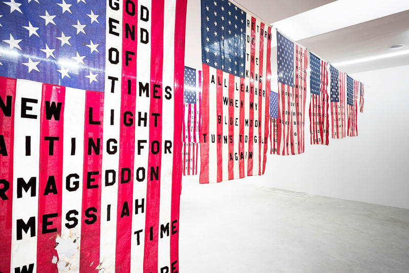 Cali Thornhill DeWitt 29 Flags exhibitions copenhagen stars and stripes