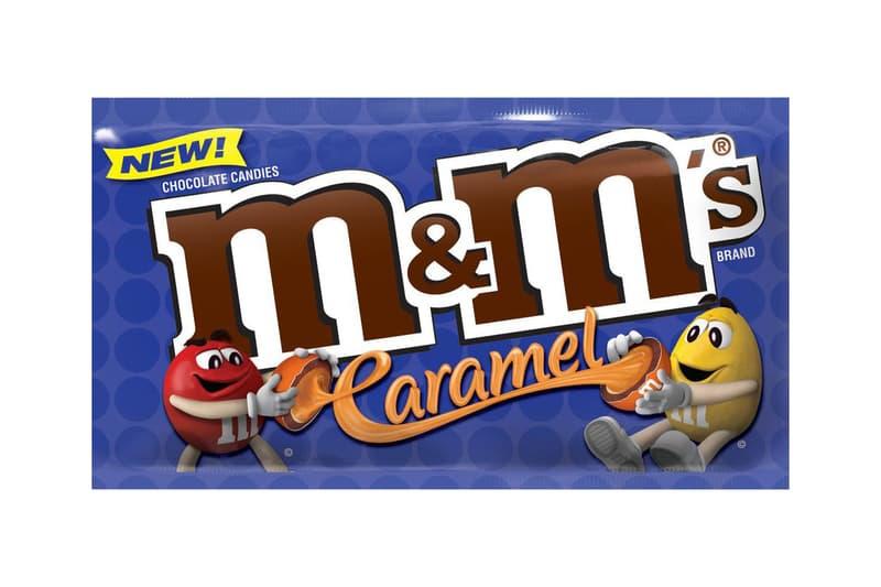 Caramel M&Ms north america chocolate