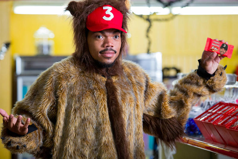 Chance the Rapper Kit Kat New Jingle Song Chocolate Chance 3 Red Hat Candy