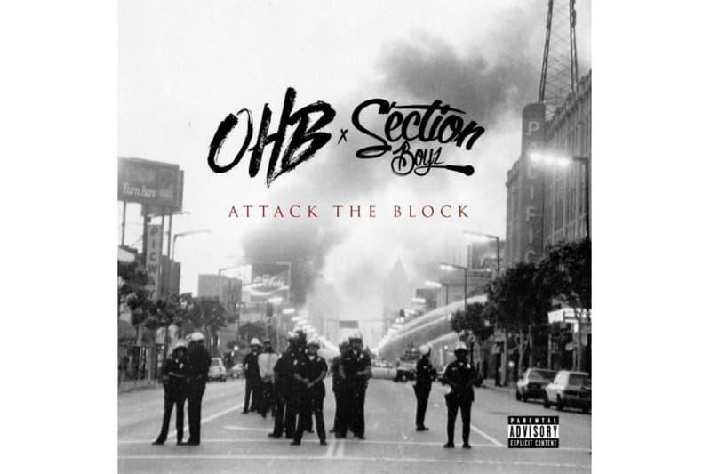 Chris Brown OHB Section Boyz Attack The Block Mixtape Download Stream