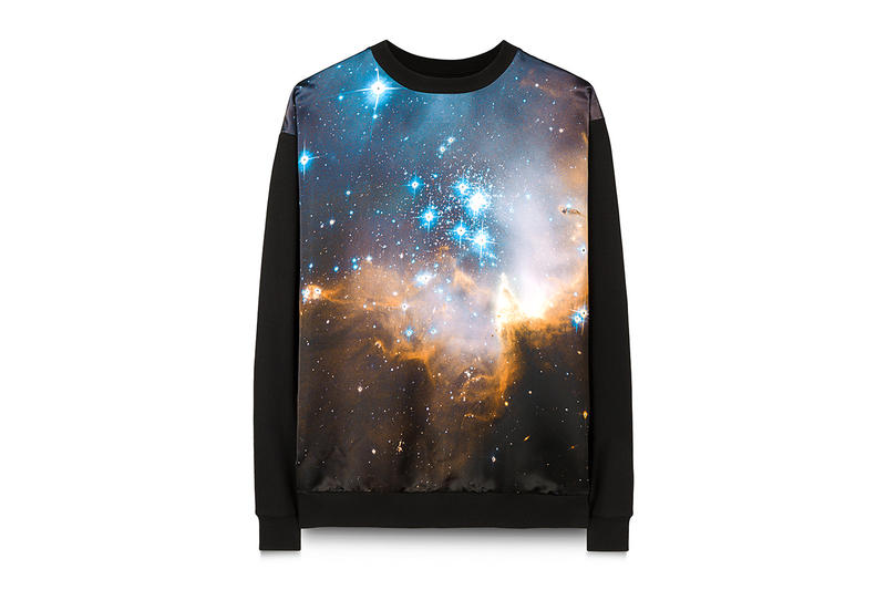 Christopher Kane 10th Anniversary Capsule Collection sweatshirts archive prints chimp floral volcanoes
