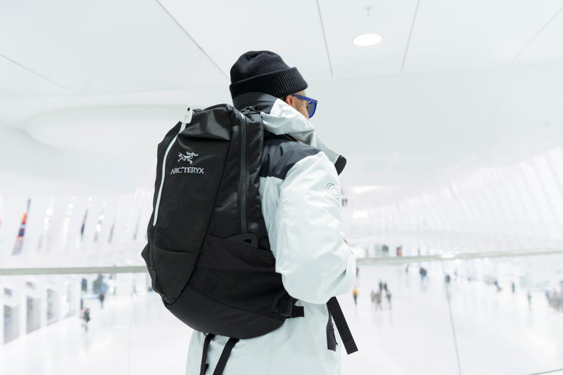 Concepts Arc'teryx Collaboration backpack jacket
