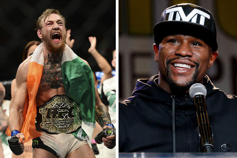 Conor McGregor Calls out Floyd Mayweather Jr.