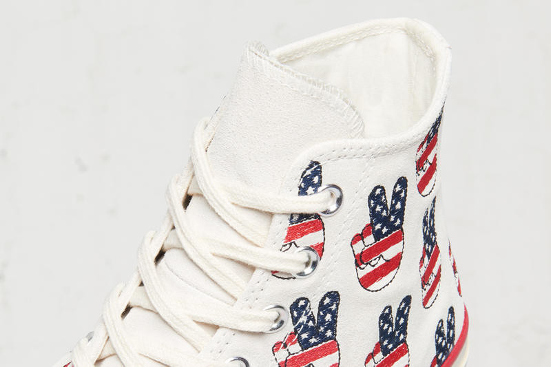 Converse Chuck Taylor All-Star 1970s American Peace Sign Images