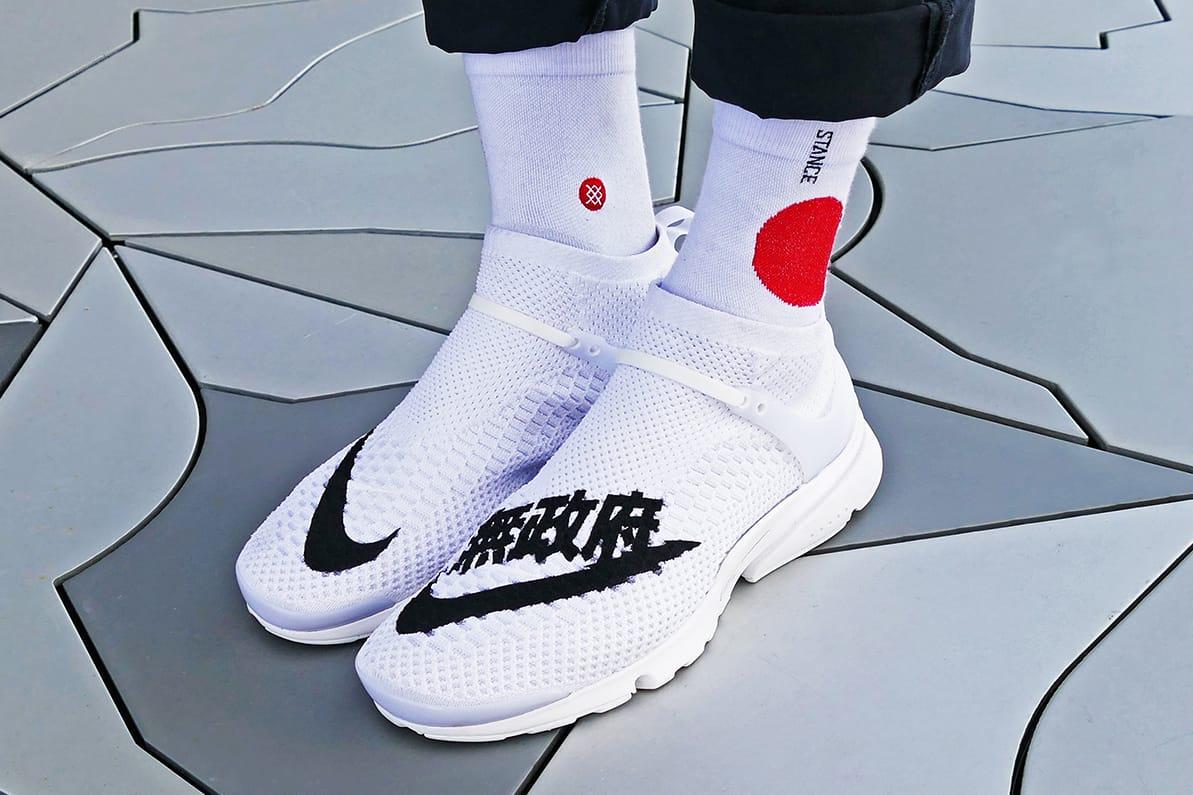 Nike Custom Air Presto Flyknit Uncaged