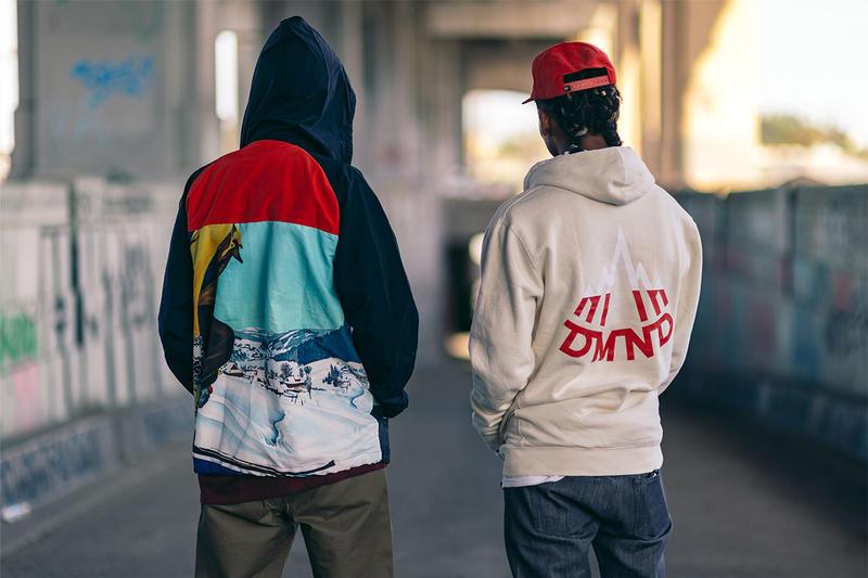 Diamond Supply Co Holiday 2016 cabin fever winter sports graphics