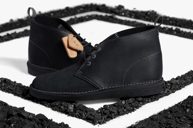 "END. x Clarks Originals ""Black Diamond"" Desert Boot"