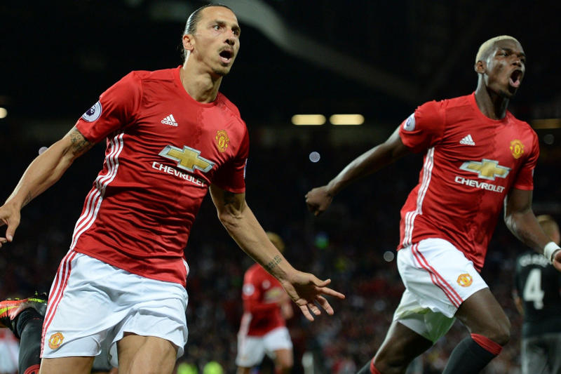 Europe Most Expensive Soccer Clubs Manchester United Paul Pogba Zlatan Ibrahimovic soccer