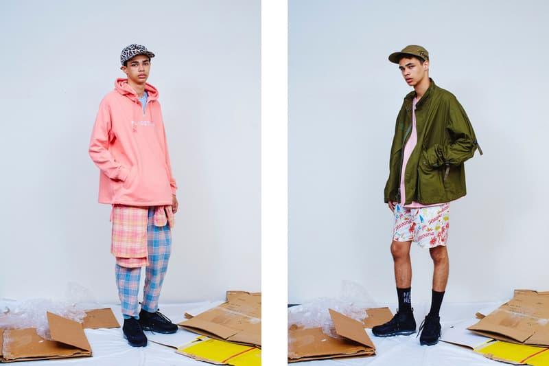 F-LAGSTUF-F 2017 SS Lookbook cuba floral prints