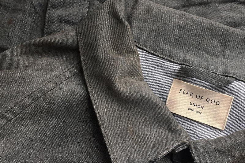 Fear of God Union Los Angeles Denim Capsule