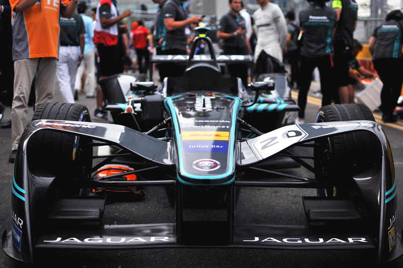 Electric Racing Cars Formula E Tesla