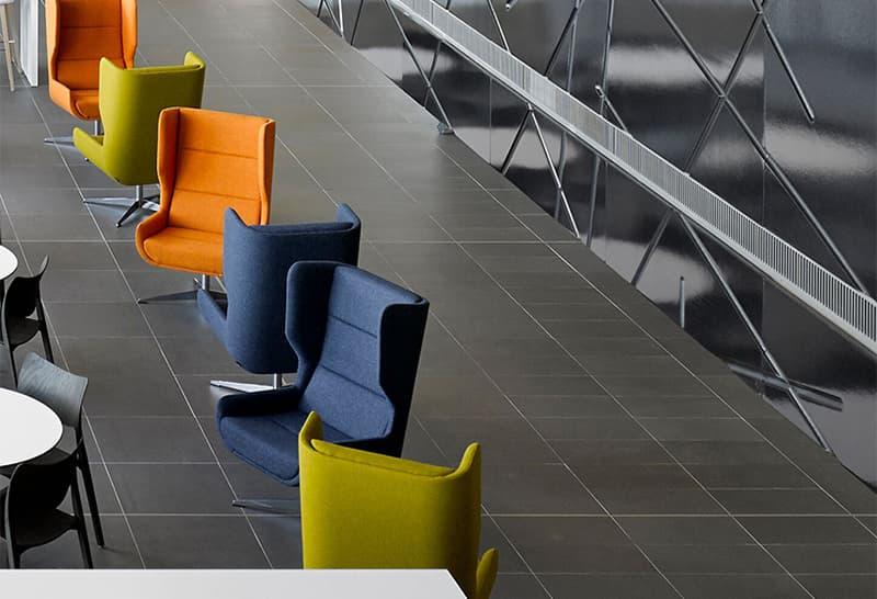 Herman Miller naughtone Hush Chair contemporary minimalism