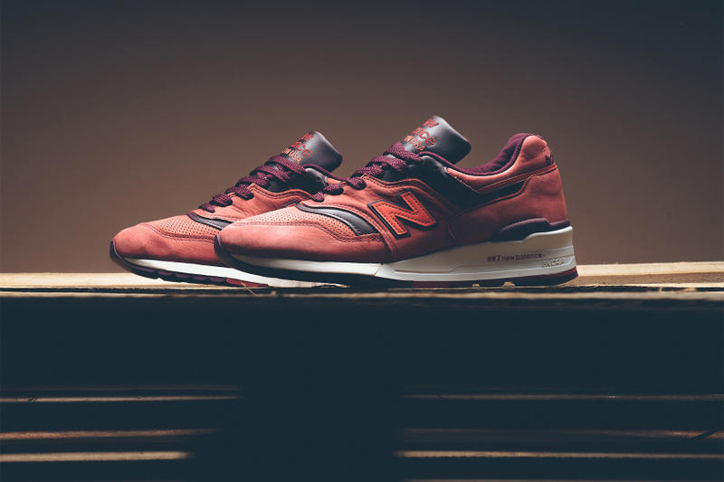 sports shoes 98750 7fa90 Horween x New Balance 997