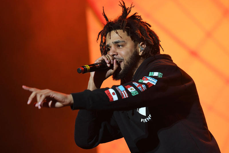 J. Cole Meadows Show Will Be His Last For a Very Long Time performance Forest Hills Drive