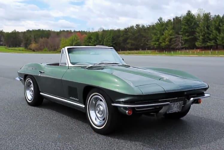 Joe Biden 1967 Corvette Stingray Jay Leno's Garage