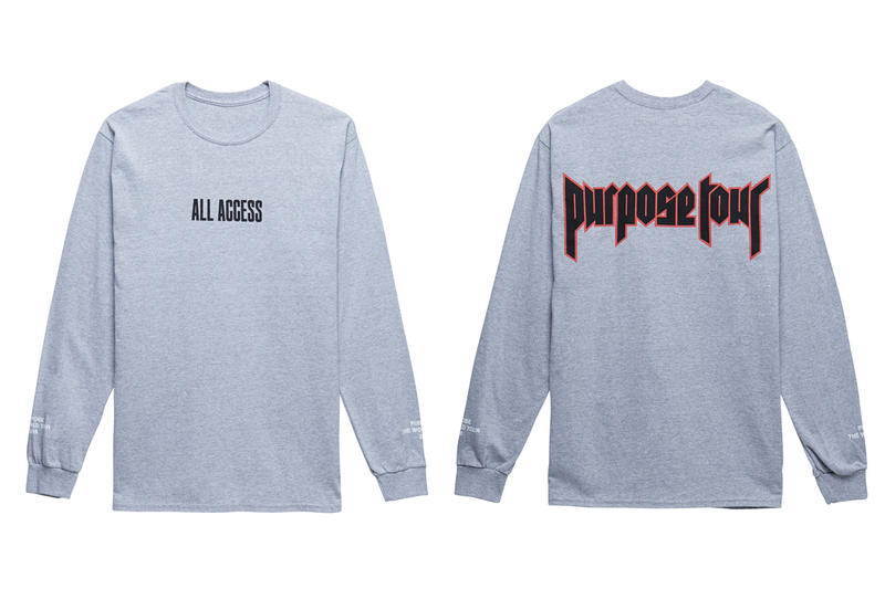 Justin Bieber Purpose Tour All Access Collection