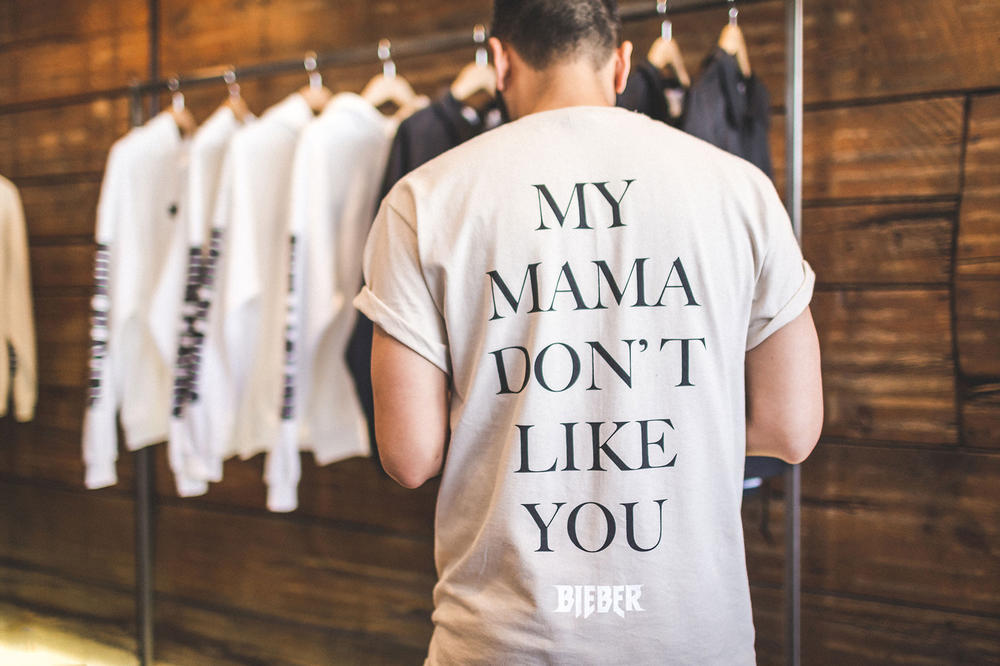 Justin Bieber Purpose Tour Merchandise available at PacSun