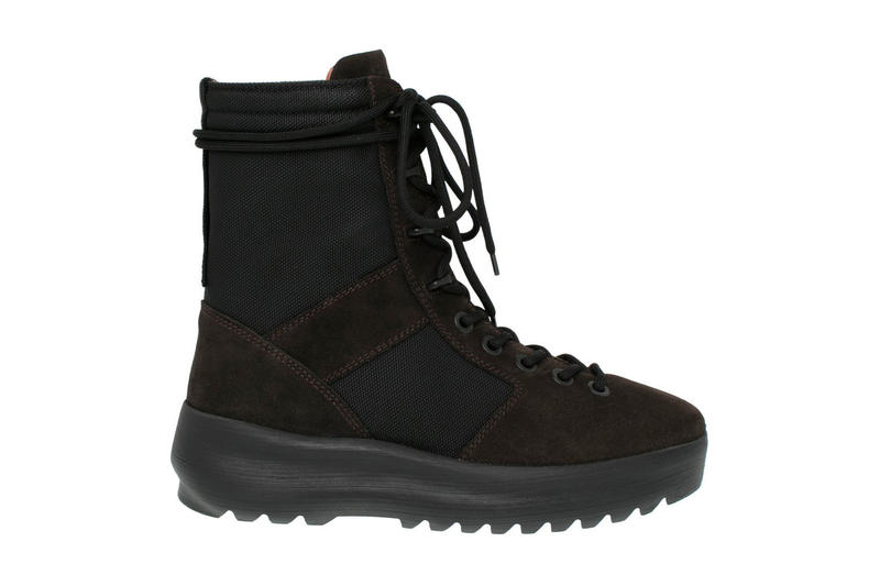 Kanye West YEEZY Season 3 Military Boot Onyx